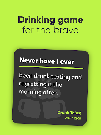 Never Have I Ever - Drinking game 18+ 2.1.2 screenshots 7