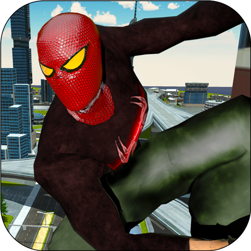 Spider Real Flying Rescue Mission - Superhero Game