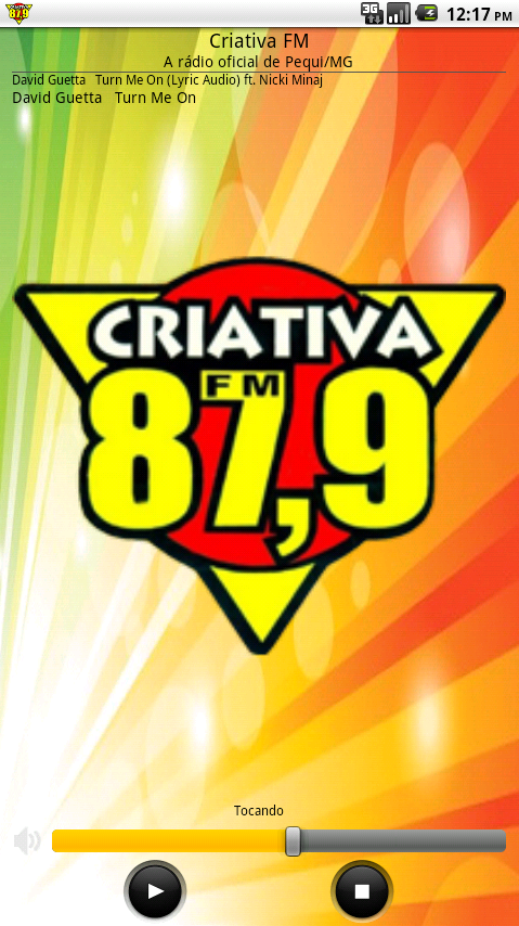 Criativa FM- screenshot