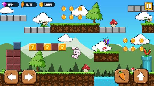 Bunny's World - Jungle Bunny run 1.9 screenshots 1