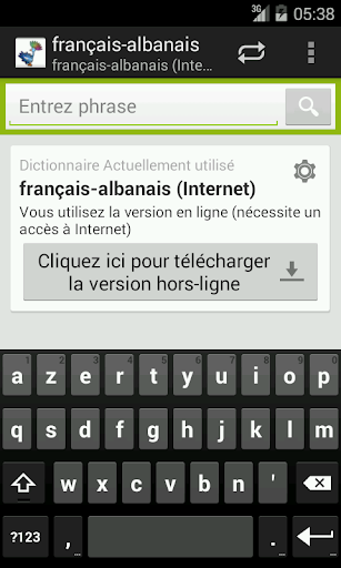 French-Albanian Dictionary