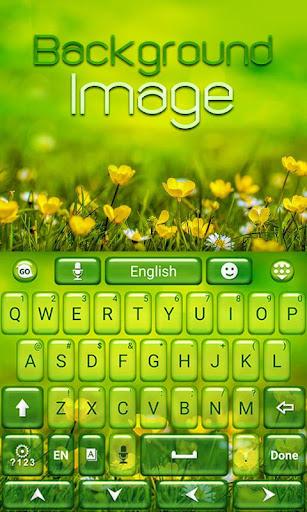 背景图像键盘