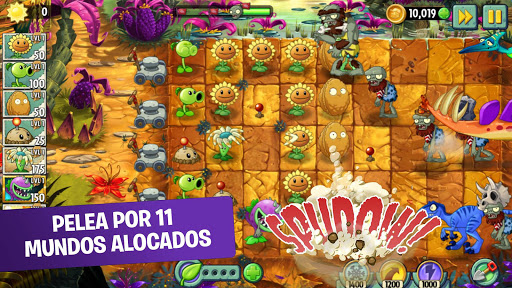 Plants vs Zombies 2 Free  trampa 7