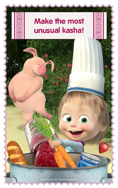 Masha and Bear: Cooking Dash screenshot 19