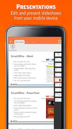 SmartOffice - View & Edit MS Office files & PDFs screenshot 3