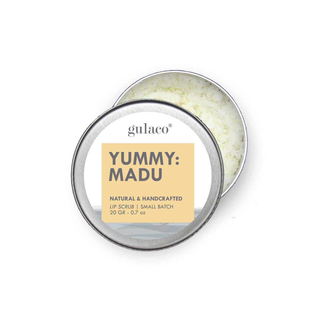 Gulaco Yummy Lip Scrub Honey