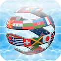 Country quiz game icon