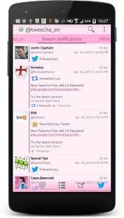Tweecha Lite for Twitter- screenshot thumbnail