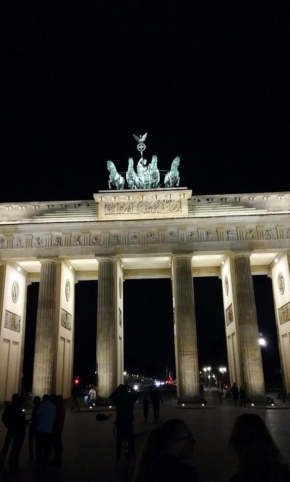 Porte de Brandebourg à Berlin - Allemagne
