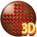3D Peg Solitaire board game icon