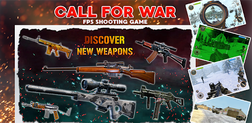 Call for War Survival Games Free Shooting Games Mod Apk 4.7 (Unlimited money)(Free purchase)