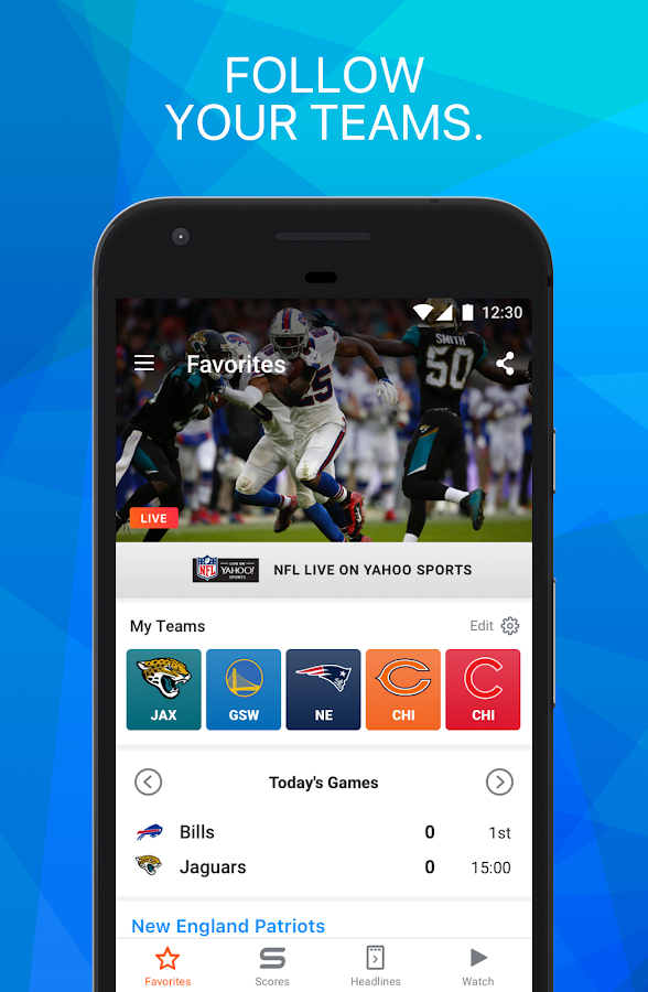 Yahoo! Sports - Comprehensive news, scores, standings, fantasy games, rumors, and more.