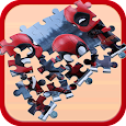 Puzzle Cosbaby Deadpool Toys