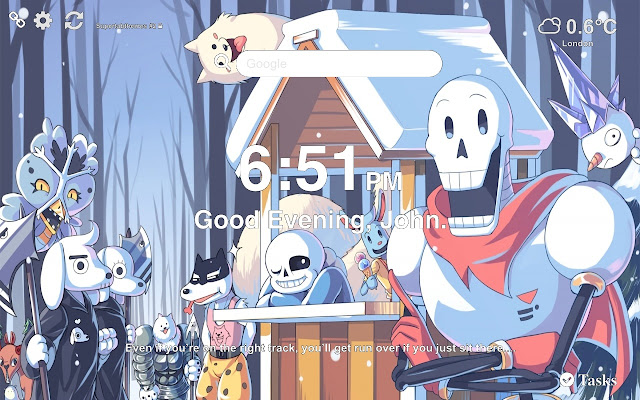 Undertale Wallpapers Themes New Tab