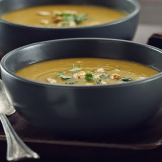 Curry Roasted Butternut Squash Soup.