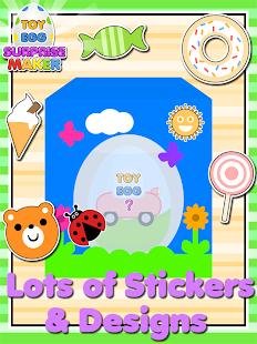 Toy Egg Surprise Maker - náhled
