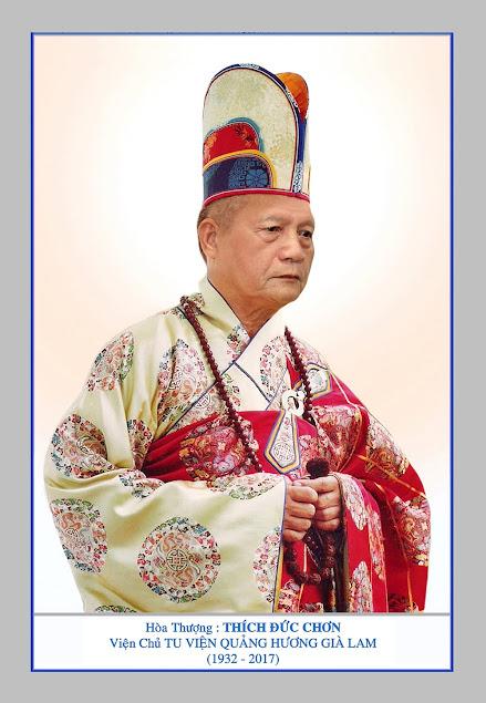 Sơ lược thân thế và đạo nghiệp Đức Cố Trưởng Lão Hòa Thượng Thượng Thủ thượng Đức hạ Chơn