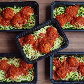 Zoodle Meal Prep.