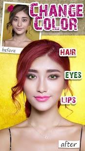 Makeup & Beauty - Editor fotografií - filtr - náhled
