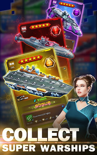 Battleship & Puzzles: Warship Empire Match modavailable screenshots 1