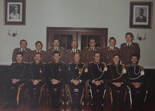 Photo: 15 Nov 1982 Plainchamp, Vermaerke, Amel, Van De Velde, Aesseloos, Vandongen, Vandevoorde. Van Hoorebeke, Estievenart, Leyssens, Duyssens, Bertrand, Rogiest, Delval