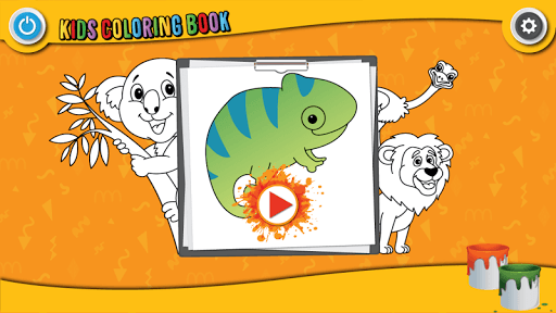 Kids Coloring Book : Cute Animals Coloring Pages filehippodl screenshot 9