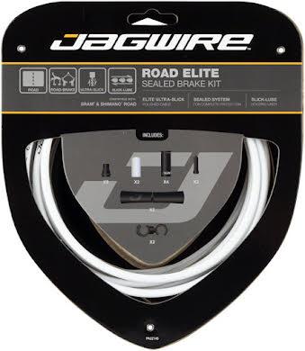 Jagwire Road Elite Sealed Brake Cable Kit SRAM/Shimano w/ Ultra-Slick Cables alternate image 3