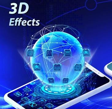 Télécharger U Launcher 3D: New Launcher 2019, 3d themes v2
