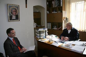 Photo: Frédéric Gautier et Frère Raphaël