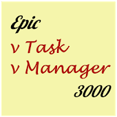 Epic Task Manager (to-do list)