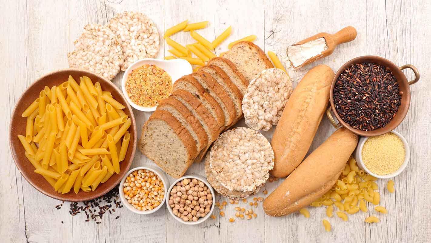 sélection d'aliments sans gluten