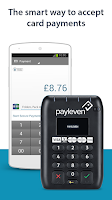 Screenshot of payleven: mobile card payments