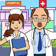 Pretend Play in Hospital: Fun Town Life Story