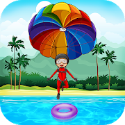 Fun Parachute Jump : New Fun Games