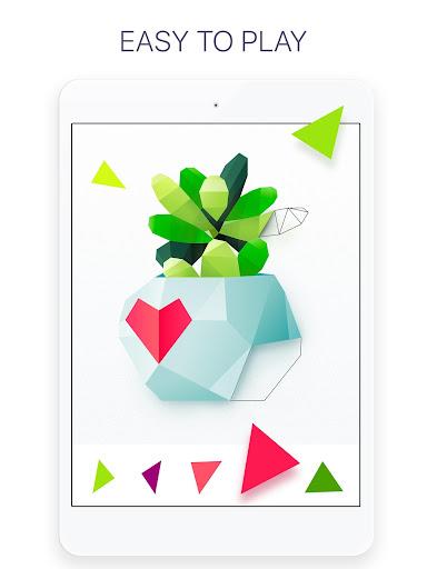 Poly - Coloring Puzzle Art Book screenshot 8