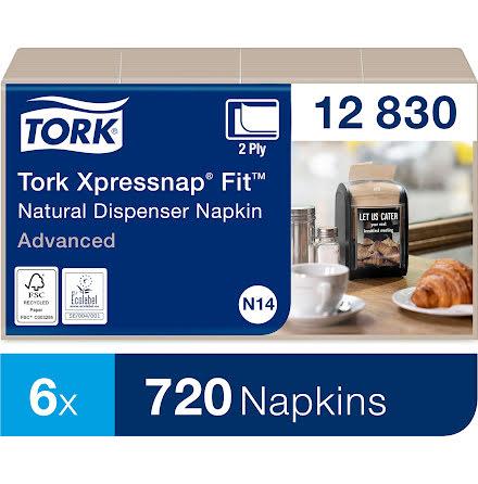 Tork Xpressnap Fit® Natur Disp