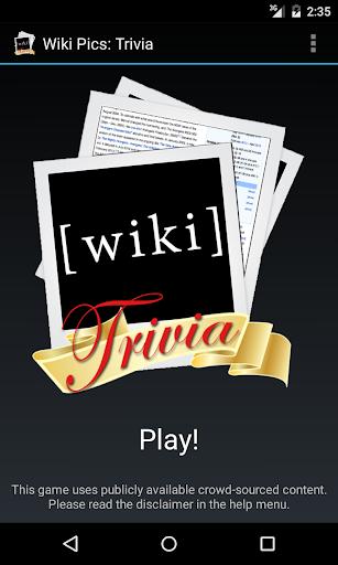 Wiki Pics: Trivia