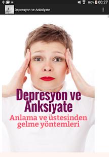 Depresyon ve Anksiyate- ekran görüntüsü küçük resmi