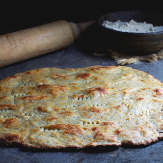 Low-Carb, Nut-Free Pizza Flatbread Crust.