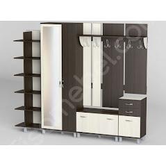 Прихожая-29 мебель разработана и произведена Фабрикой Тиса мебель