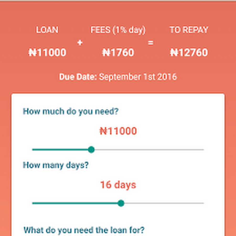 QuickCheck - Get Up to N30,000 Loan No Collateral