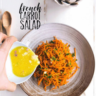 Simple French Carrot Salad.
