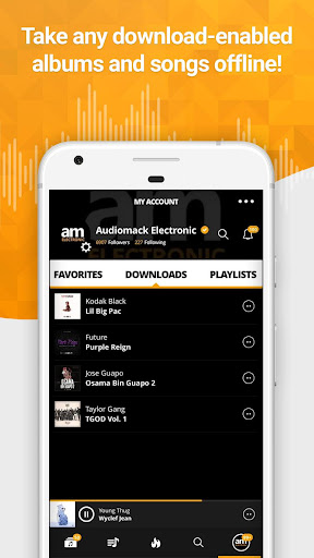 Audiomack Free Music Downloads v3.1.1 [Unlocked]