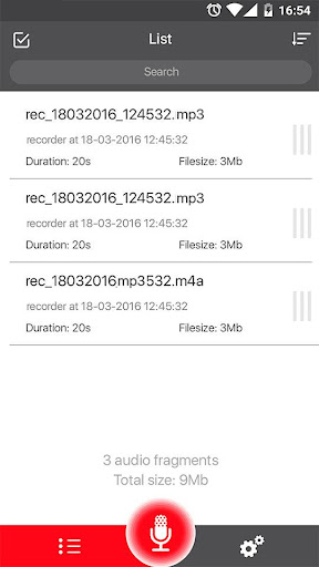 Voice Recorder 34 screenshots 19
