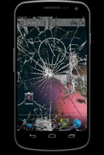 無料休闲Appの割れた画面 - 冗談で|記事Game