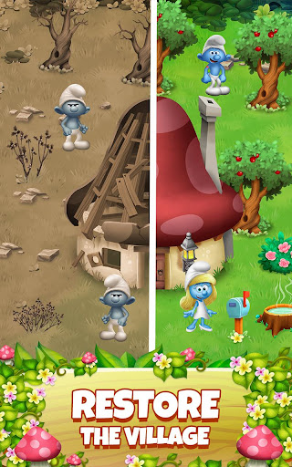 Smurfs Bubble Shooter Story 2.15.050204 screenshots 18