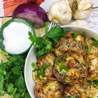 Chicken & Parmesan Meatballs.