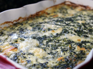 Holiday Spinach Casserole Recipe