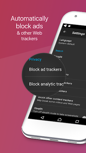 Firefox Focus: Private Browser screenshot 1