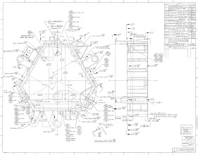 Album archive viking lander body blueprints photo sheet 2 of the blueprint set for the viking lander body structure assembly malvernweather